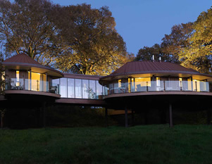 The Treehouses at Chewton Glen, Hampshire