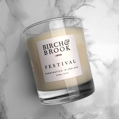 Birch Brook, Festival Candle