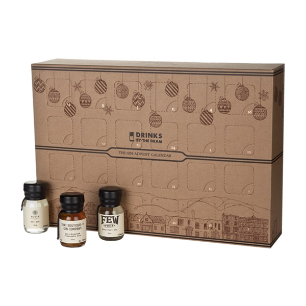 Around the world in 24 gins, that's the premise of The Gin Advent Calendar, a festive box filled to the brim with everyone's favourite juniper-based libation!