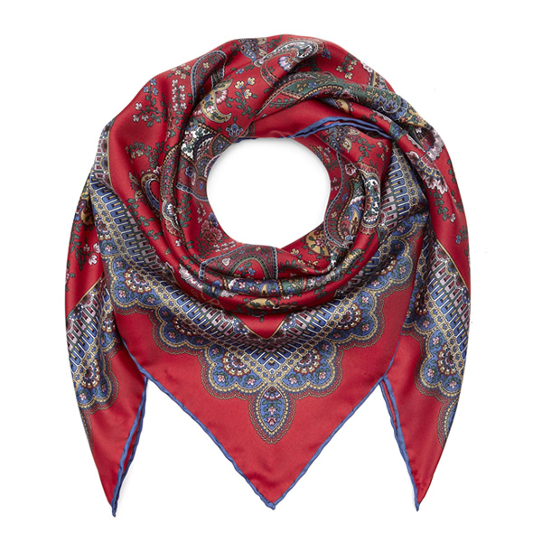 This Florence Paisley Foulard Scarf from Liberty is the perfect Christmas gift for your mum or wife, it's sophisticated and wonderfully elegant