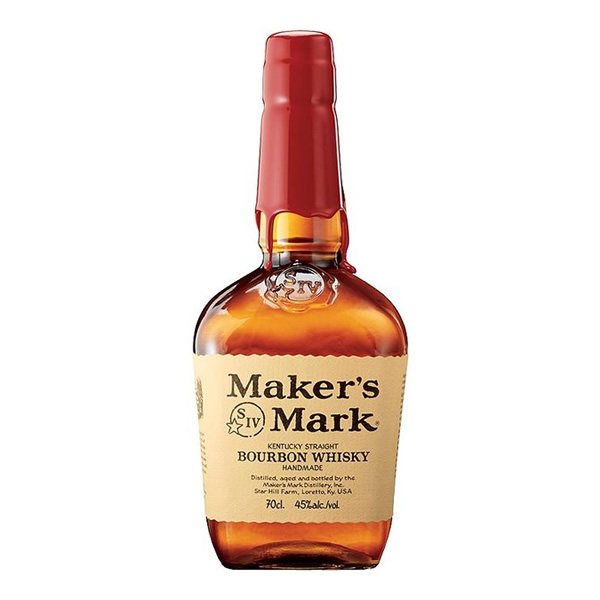 Made using red winter wheat, Maker's Mark has a sweeter flavour profile than most traditional Bourbons giving it a distinctive taste. With notes of oak, caramel, vanilla and spice it is the ideal spir