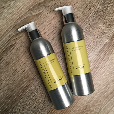 Max Benjamin, Lemongrass & Ginger Hand & Body Wash