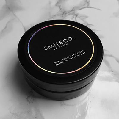 Smile Co, Activated Charcoal Tooth Polish