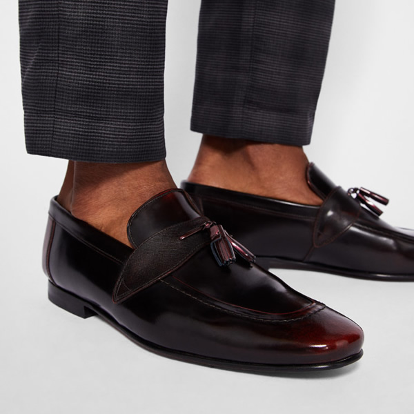 Refine your new-season style in one simple step with Ted's GRAFIT loafers