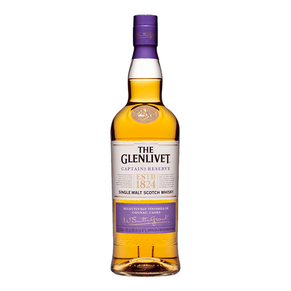 Looking for fathers day gift ideas, here's The Glenlivet Captain's Reserve