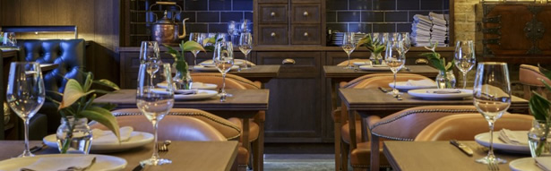 Dining at Hurley House Hotel Review