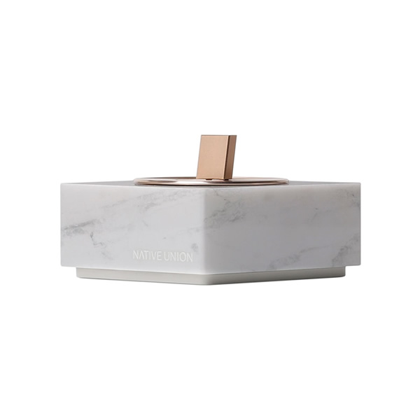 Made from the finest genuine marble, DOCK LIGHTNING MARBLE EDITION is a beautiful object for the home