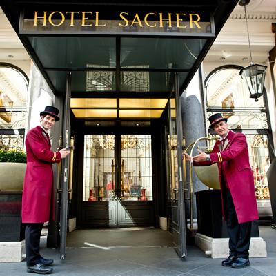 Sacher Vienna Lobby