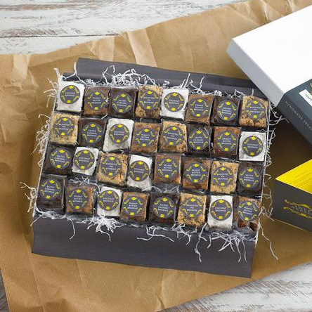 This Ultimate Brownie Box combines all their favourite brownie flavours for you to try