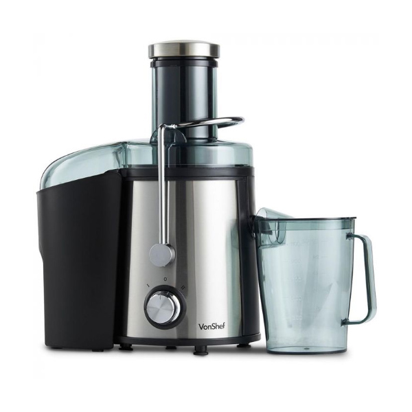 high-powered 800W whole fruit VonShef juicer