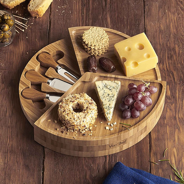 The perfect Fathers Day gift - the VonShef Tiered Cheese Board